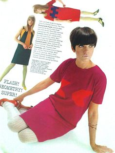 sweetjanespopboutique:  Youthquake fashions modelled by Sandy...