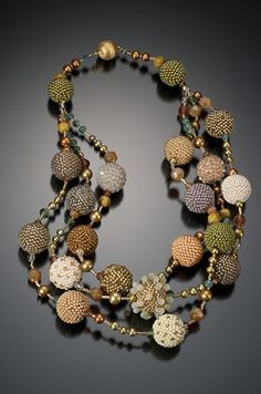 Multi Strand Halskette