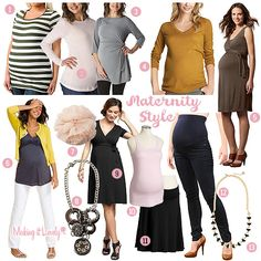 Maternity clothes ideas!!