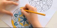 Le coloriage de Mandalas pour gérer les pressions sur le papier
