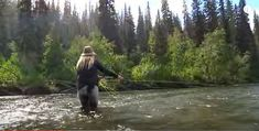 Fly Fishing Steelhead In B.C. Is Some Of The Best In The World! This is a dream area to fish in.