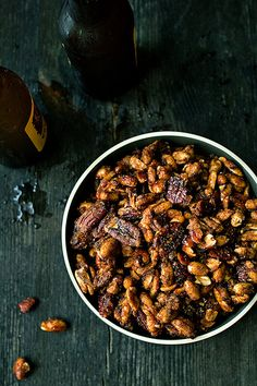 Sweet and Spicy Candied Nuts by Citrus and Candy, via Flickr