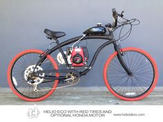 Want a quality 4 stroke powered Motorized Bicycle on a budget