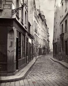 Rue de l'Hôtel Colbert, c. 1866 | Vergue
