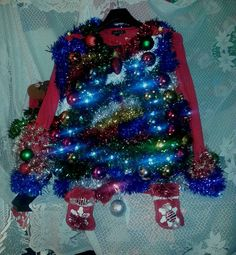 Check out this item in my Etsy shop https://www.etsy.com/listing/207269990/ugly-christmas-sweaterstudio-54-at-the