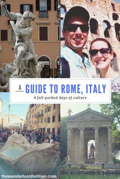 Want to go to Italy but aren't sure where to start your planning? Here is our guide to help you best explore Rome in 4 days!