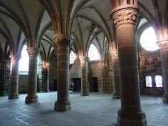 Le Mont Saint Michel - La Salle des Chevaliers