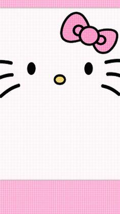 simple wallpaper hello kitty