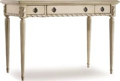 french blue writing desk