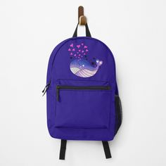 Middle School Lockers, Whale, Online Shopping, Backpacks, Printed, Awesome, Bags, Products, Handbags