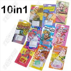 10 Items Halloween & Fool's Day Set Kit Prank Funny Practical Trick Gag on eBid Malaysia