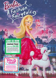 Barbie A Fashion Fairytale (DVD 2010)   DVD Empire
