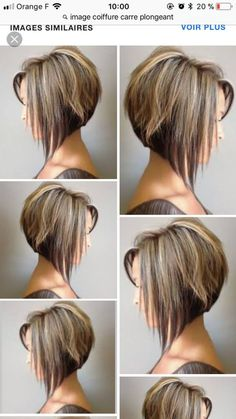 80 Bob Hairstyles To Give You All The Short Hair Inspiration - Hairstyles Trends Angled Bob Haircuts, Bob Hairstyles For Fine Hair, Inverted Bob Hairstyles, Pixie Hairstyles, Medium Hair Styles, Curly Hair Styles, Bob Haircut For Fine Hair, Short Hair Cuts, Hair Trends