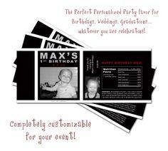 DIY Custom Jones Soda Bottle Labels PDF - The Perfect Party Favor | PixelPerfectBoutique - Digital Art  on ArtFire
