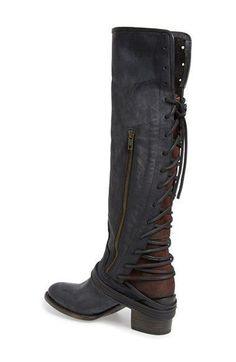 Freebird by Steven 'Coal' Tall Leather Boot (Women) | Nordstrom