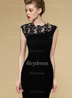 Dress - $13.90 - Polyester Solid Cap Sleeve Above Knee Casual Dresses (1955138792)