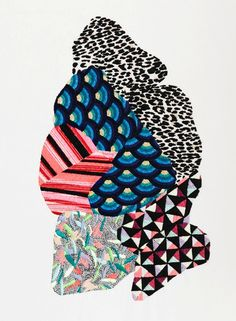 Jazmin Berakha's embroidery work
