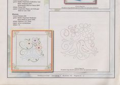 Patrons broderies Hobby - Nerina De - Picasa Albums Web Embroidery Cards, Embroidery Patterns, Card Patterns, Stitch Patterns, Paper Butterflies, Stitch 2, String Art, Hand Stitching, Quilling