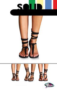 Australian Made Strapy Sandals / buy them on www.thetarantin.com AU $38