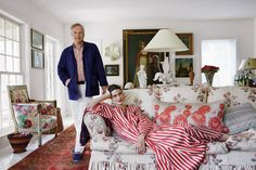 Ian and Emilie Irving's Bohemian Splendor — on Long Island - The New York Times