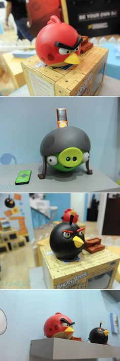 angry bird inspired accessories. cool.