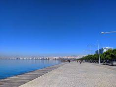 Good morning!! 🥰😊 . #greece #thessaloniki #agapaothessaloniki #thesstips #mobilephotography #cityphotography #citylife #streetphotography #redminote7 #sunnyday #bluesky #beautiful #happy #amazing City Photography, Mobile Photography, City Life, Sunny Days, Greece Thessaloniki, Sidewalk, Beach, Amazing, Water