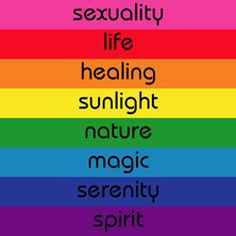 eight original meanings of the colors of the rainbow flag, LGBT flag, rainbow meaning, pride flag meaning, Gilbert Baker