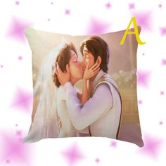 Tangled Ever After Pillow Cover Case by Globbie on Etsy
