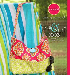 Sun and Surf Tote PDF Downloadable Pattern by MODKID - Instant Download