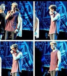 Niall cried during you and I in Brazil he has such a beautiful soul god bless him