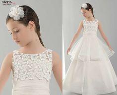 Vestidos Primera Comunión 2014: Fotos colección Allegra Petit Couture (14/17) | Ellahoy