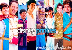 Happily married to a former Disney Prince!  And a lot of people didn't know about a temporary semi-Disney Prince that you could meet for a while at Disney Studios in WDW, Prince Caspian from the Narnia series! <3