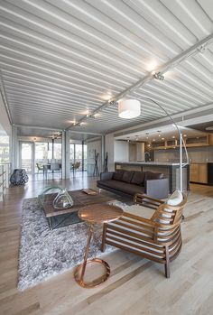 Tiny Container House, Container Homes Cost, Shipping Container Cabin, Shipping Container Home Designs, Building A Container Home, Container Buildings, Container Architecture, Building A New Home, Gym Room At Home