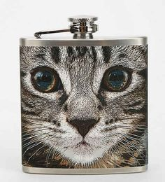 Get crazy purrunk with this flask.