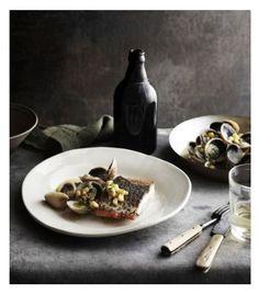 Barramundi and clams. Photo Credit: Sharyn Cairns/James Kidman.