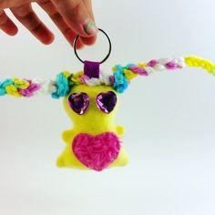 Marshmallow Drop, Chubbee, plushie keychain, Handmade by LondonsKingdom on Etsy