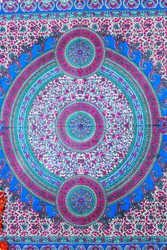 Mandala Tapestries Hippie Tapestries Indian by TheGangasagar
