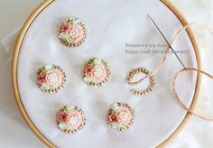 「ビーズ刺繍 teatime」の画像検索結果