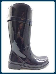 GUESS 38 EU Stiefel Damen Blau Gummi KY898 - Stiefel für frauen (*Partner-Link)