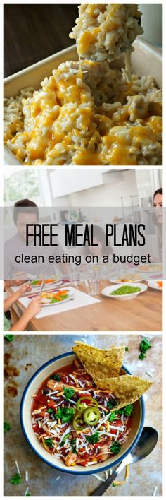 Meal Plans for a Budget: Free Weekly Meal Plans delivered to your inbox every week with family-approved meals that budget-friendly and made with clean ingredients.