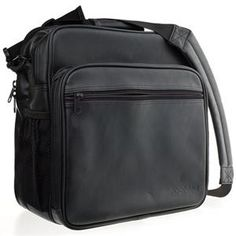 Adorama Officers Camera and Notebook System Bag, Black: Picture 1 regular  not as pretty as the other but more in my price range!