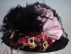 English ladies tea party hat...
