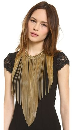 Maasai Long Chain Necklace on Chiq  $2,315.00 http://www.chiq.com/maasai-long-chain-necklace-0