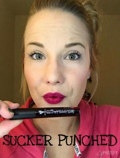Youniques Stiff Upper lip lip stains are gorgeous and last 4-8 hours. This color is a new color, not sure how long its going to last.
