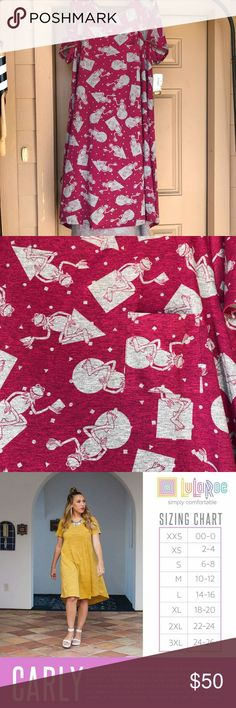 FUNDRAISER ITEM: 3XL NWT CARLY RARE Kermit Hi All! We are raising money for our adoption! Private adoption can cost 20k and far above. All proceeds go to fund our adoption. Thank you for considering this item! Have a blessed day.  Adorable and rare Kermit the Frog dress from Lularoe! NWT, ships in 1-2 business days (mon-fri). Please feel free to ask me any questions you have about my items. POMS LuLaRoe Dresses High Low