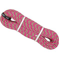 BlueWater Ropes Lightning Pro mm Standard Climbing Rope-Double m-Pink/Green. Dry Treatment: no. Climbing Rope, Pink And Green, Blue, Outdoor Recreation, Lightning, Ropes, Cord, Outdoors, Climbers