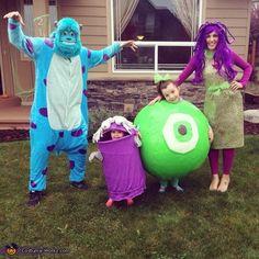 Monsters Inc - Halloween Costume Contest via @costume_works