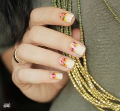 Tuto Nail art // Welcome l'Automne !