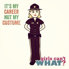 IT'S MY CAREER NOT MY COSTUME Law Enforcement Today www.lawenforcementtoday.com