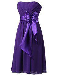 plus size purple bridesmaid dresses: Clothing, Shoes & Jewelry Purple Gowns, Purple Bridesmaid Dresses, Prom Dresses, Thing 1, Purple Fashion, Evening Gowns, Strapless Dress, Chiffon, Plus Size